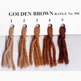 Appletons Crewel Wool in Hanks | Golden Brown