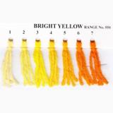 Appletons Crewel Wool in Hanks | Bright Yellow - Main Image
