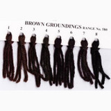 Appletons Crewel Wool in Hanks | Brown Groundings