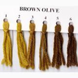 Appletons Crewel Wool in Hanks | Brown Olive - Main Image