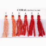 Appletons Crewel Wool in Hanks | Coral - Main Image