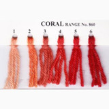 Appletons Crewel Wool in Hanks | Coral - Main Image