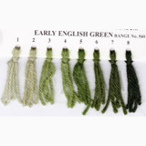Appletons Crewel Wool in Hanks | Early English Green - Main Image