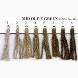 Appletons Crewel Wool in Hanks | Mid Olive Green
