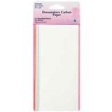 Dressmakers Carbon Paper | 28x23cm | 5 Various Coloured Papers | Hemline