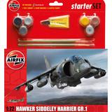 Airfix Medium Starter Set | Hawker Siddeley Harrier GR1 | 1:72