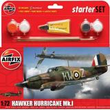 Airfix Small Starter Set | Hawker Hurricane MkI | 1:72