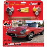 Airfix Medium Starter Set | Jaguar E-Type | 1:32