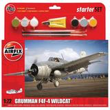 Airfix Medium Starter Set | Grumman F4F-4 Wildcat | 1:72