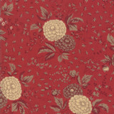Le Beau Papillon | French General | Moda Fabrics | 13862-12 Rouge