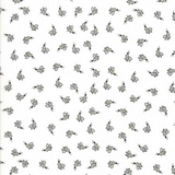 Darling Little Dickens   Linda Nelson   Moda Fabrics   611 Bees White