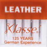 Klasse   Machine Needles   Leather Pack   Various Sizes