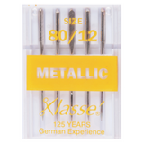 Klasse | Machine Needles | Metallic Embroidery Pack | 80/12