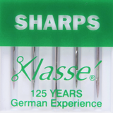 Klasse   Machine Needles   Sharps   Various Sizes