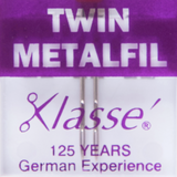 Klasse | Machine Needles | Twin Embroidery Pack | Various Sizes