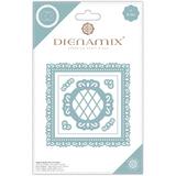 Dienamix   Craft Consortium   Ornate Square Cutting Die