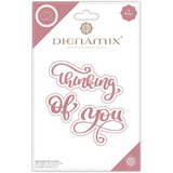 Dienamix | Craft Consortium | Thinking of you Cutting Die - Main Image