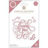Dienamix | Craft Consortium | Thank you Cutting Die - Main Image