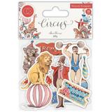 Circus | Clare Therese Gray | Craft Consortium | Wooden Ephemera Shapes - Main Image