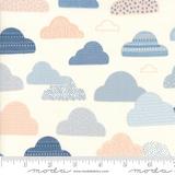 Wild & Free | Abi Hall | Moda Fabrics | 35313-11 | Cloud Cream Background