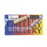 Mungyo | Inscribe Gallery Oil Pastel Set | 12 Assorted Colours - Main Image