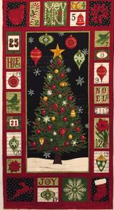 Christmas Countdown | Deb Strain | Moda Fabrics | 196020-11 Panel