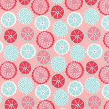 Coral Queen of the Sea Collection and Panel | Stacy Iest Hsu | Moda Fabrics | 20514-15