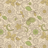Sew Mindful   Lewis and Irene   A261.1 Floral Flow on Mellow Yellow