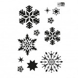 A4 Painting Stencils | Creative Emotions, Efco | Snow Crystals