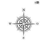 A4 Painting Stencils | Creative Emotions, Efco | Wind Rose