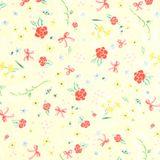 Bunnies n' Cream by Lauren Nash | Little Flowers Yellow