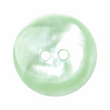 Polyester Button | 19mm | 2 Hole | Green