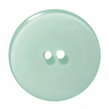 Coloured Glossy Button | 28mm | 2 Hole | Light Green