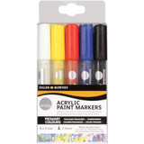 Daler Rowney Simply Acrylic Paint Markers | 5 Pack