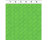 Mythical Jungle Fabric Collection   Laurel Burch   Green Batik Triangles