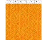 Mythical Jungle Fabric Collection   Laurel Burch   Orange Batik Triangles