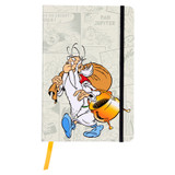 Clairefontaine Asterix Hardcover Notebook w/Elastic + Pocket | Design 3