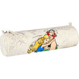 Clairefontaine Asterix Round Pencil Case | Obelix & Panacea