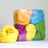 Hawthorn Handmade | Merino Felting Wool Bundle | Summer