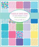 Fiddle Dee Dee Charm Pack | Me and My Sister Fabrics | Moda Fabrics