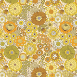 Flower Child | Lewis and Irene | A435.1 Far Out Floral Yellows
