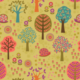 Flower Child | Lewis and Irene | A434.2 Groovy Forest Multi