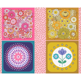 Flower Child | Lewis and Irene | A503 Flower Child Cushion Panels