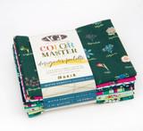Mister Domestic No. 1 | Color Master, Designer's Palette | Art Gallery Fabrics | Fat Quarter Bundle | 10pcs