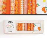 No. 20 Tangerine Summer | Color Master | Art Gallery Fabrics | Half Yard Collector's Box | 10 Pieces