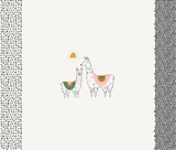 Pacha Capsule | Art Gallery Fabrics | I Love You Llama Panel