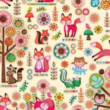 Friendly Forest 2014 Fabric Collection & Panel | SPX Fabrics | Forest Friends