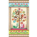 Friendly Forest 2014 Fabric Collection & Panel | SPX Fabrics | Main Panel