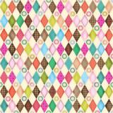Friendly Forest 2014 Fabric Collection & Panel | SPX Fabrics | Multi Diamonds