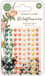 At Home in the Wildflowers | Katie Putt | Craft Consortium | Self-Adhesive Enamel Dots